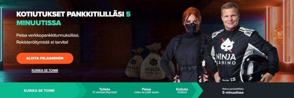 Ninja Casinon etusivu